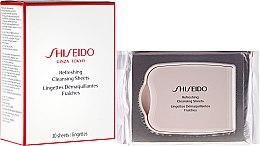Voňavky, Parfémy, kozmetika Osviežujúce čistiace servítky - Shiseido Refreshing Cleansing Sheets