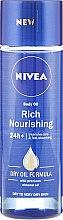 Voňavky, Parfémy, kozmetika Výživný olej pre telo - Nivea Rich Nourishing Body Oil