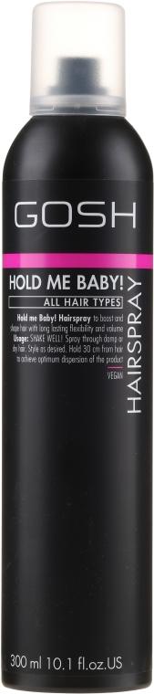 Lak na vlasy silná fixácia - Gosh Hold me Baby! Hairspray