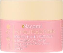 Voňavky, Parfémy, kozmetika Medová gélová maska na tvár - Nacomi Honey Face Gel-Mask