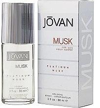 Voňavky, Parfémy, kozmetika Jovan Platinum Musk For Men - Kolínska vodá