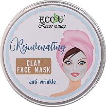 Voňavky, Parfémy, kozmetika Hlinená maska na tvár proti vráskam - Eco U Anti-Wrinkle Clay Face Mask