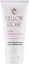 Voňavky, Parfémy, kozmetika Hydratačný denný fluid - Yellow Rose Creme Hydratante Fluide