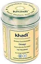 "Voňavky, Parfémy, kozmetika Bylinná maska na tvár a telo ""Orange"" - Khadi"