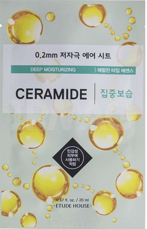 Ultra tenká ceramidová pleťová maska - Etude House Therapy Air Mask Ceramide — Obrázky N1