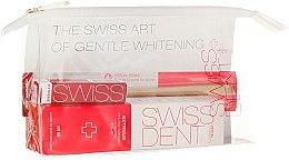 Voňavky, Parfémy, kozmetika Sada - Swissdent Extreme Promo Kit (toothpaste/50ml+mouth/spr/9ml+soft/toothbrush/1pc+bag)