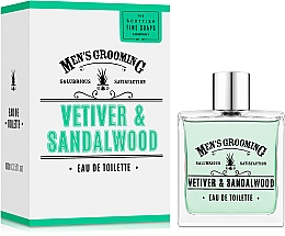Voňavky, Parfémy, kozmetika Scottish Fine Soaps Men's Grooming Vetiver & Sandalwood - Toaletná voda