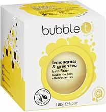 """Voňavky, Parfémy, kozmetika Vaňová bomba """"Zelený čaj s citrónovou trávou"""" - Bubble T Bath Fizzer Lemongrass Green Tea"""