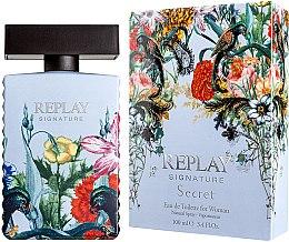 Voňavky, Parfémy, kozmetika Replay Signature Secret - Toaletná voda
