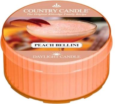 Čajová sviečka - Country Candle Peach Bellini Daylight — Obrázky N1