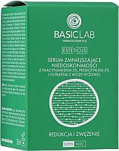 Voňavky, Parfémy, kozmetika Sérum na nedokonalú pokožku s niacínamidom 5%, prebiotikom 5% a filtrátom z ryžovej vody - BasicLab Dermocosmetics Esteticus