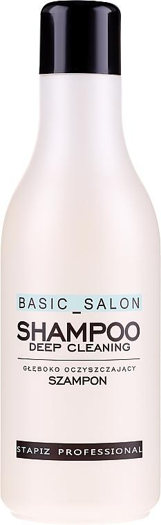 Šampón na vlasy - Stapiz Basic Salon Deep Cleaning Shampoo — Obrázky N1