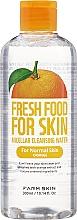 Voňavky, Parfémy, kozmetika Micelárna voda pre normálnu pokožku - Superfood For Skin Micellar Cleansing Water Orange