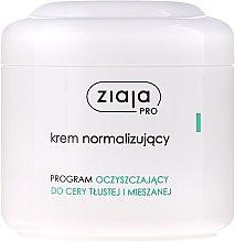Voňavky, Parfémy, kozmetika Normalizujúci krém na tvár - Ziaja Pro Normalizing Cream