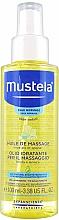 Voňavky, Parfémy, kozmetika Masážny olej pre telo - Mustela Bebe Massage Oil
