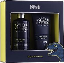 Voňavky, Parfémy, kozmetika Sada - Baylis & Harding Men's Citrus Lime & Mint 2 Piece Set(hair/body/wash/300ml+sh/gel/200ml)