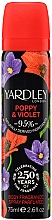 Voňavky, Parfémy, kozmetika Yardley Poppy & Violet - Dezodorant