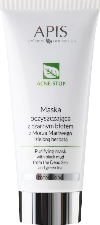 Čierna bahenná maska - APIS Professional Purifying Mask With Black Mud