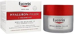 Denný krém pre normálnu a zmiešanú pleť - Eucerin Hyaluron-Filler+Volume-Lift Day Cream SPF15 — Obrázky N2