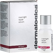 Voňavky, Parfémy, kozmetika s extraktom arktickým čučoriedok - Dermalogica Age Smart Overnight Repair Serum