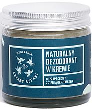 Voňavky, Parfémy, kozmetika Neparfumovaný dezodorant-krém - Cztery Szpaki