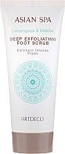 Voňavky, Parfémy, kozmetika Scrub na nohy - Artdeco Asian Spa Deep Exfoliating Foot Scrub