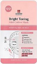 Voňavky, Parfémy, kozmetika Rozjasňujúca maska na tvár - Leaders Ex Solution Bright Toning Mild Cotton Mask