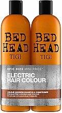 Voňavky, Parfémy, kozmetika Sada - Tigi Bed Head Colour Godess (sh/750ml + cond/750ml)