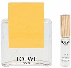 Voňavky, Parfémy, kozmetika Loewe Solo Loewe Ella - Sada (edt/100ml + edt/7.5ml)