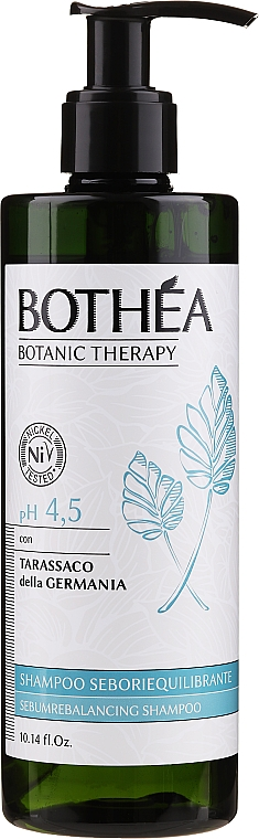 Šampón pre mastné vlasy - Bothea Botanic Therapy Seboriequilibrante Shampoo pH 4.5 — Obrázky N1