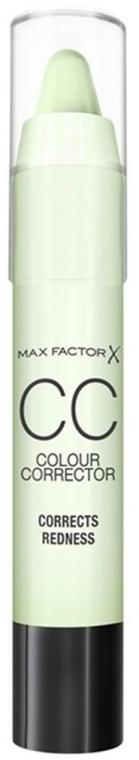 Korektor na tvár - Max Factor CC Colour Corrector Corrects Redness — Obrázky N1