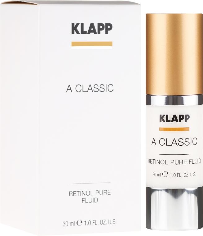 """Emulzia na tvár """"Čistý retinol"""" - Klapp A Classic Retinol Pure Serum"""