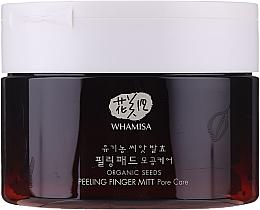 Voňavky, Parfémy, kozmetika Peelingové špongie na tvár - Whamisa Organic Seeds Peeling Finger Mitt Pore Care