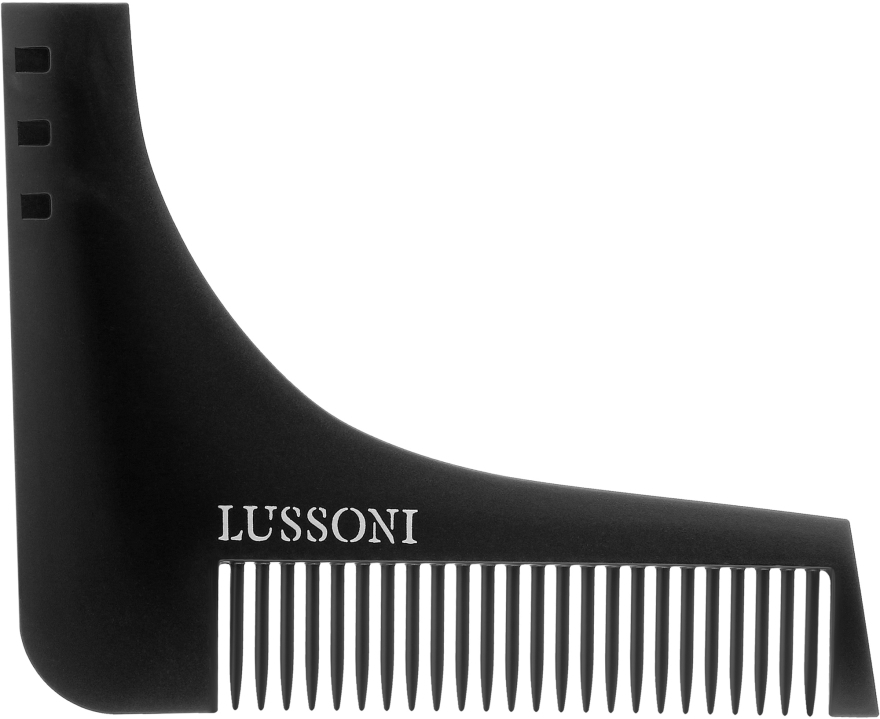 Kefa na bradu - Lussoni BC 600 Barber Comb