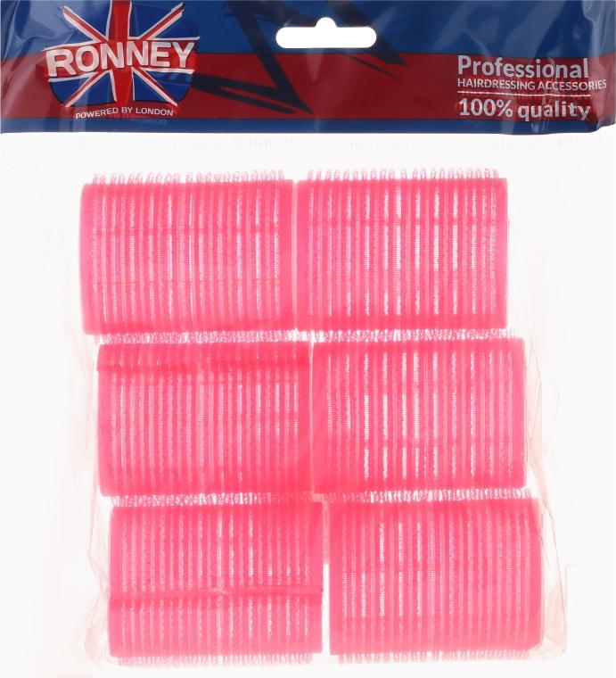 Samodržiace natáčky 44/63, ružové - Ronney Professional Velcro Roller