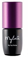 Voňavky, Parfémy, kozmetika Top na gélový lak - MylaQ My Top Matte