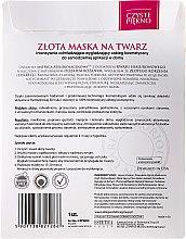 "Maska pre tvár ""Zlata"" - Czyste Piekno Gold Face Mask — Obrázky N2"