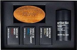 Voňavky, Parfémy, kozmetika Sada - Zew The Bearded Man's Holiday Set (soap/4x85ml + brush)