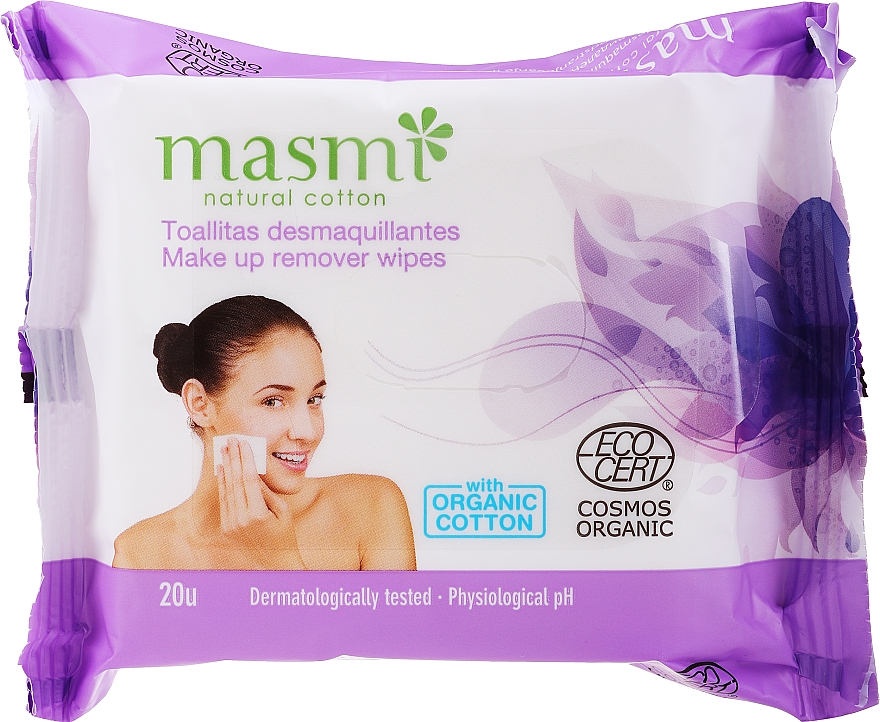 Odličovacie obrúsky - Masmi Natural Cotton