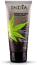 Voňavky, Parfémy, kozmetika Krém na nohy s konopným olejom - India Foot Cream With Cannabis