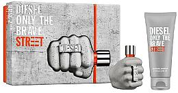 Voňavky, Parfémy, kozmetika Diesel Only The Brave Street - Sada (Edt/35ml + Sh/gel/50ml)