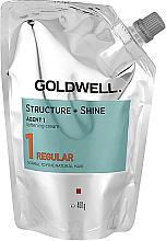 Voňavky, Parfémy, kozmetika Zjemňujúci krém na prirodzené nefarbené vlasy - Goldwell Structure + Shine Agent 1 Regular 1