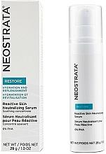 Voňavky, Parfémy, kozmetika Neutralizačné sérum na citlivú pokožku - Neostrata Restore Reactive Skin Neutralizing Serum 6% PHA
