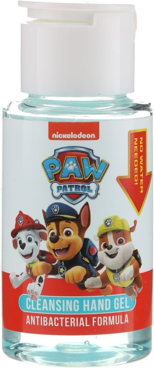 Detský antibakteriálny gél na ruky - Uroda Paw Patrol Cleansing Hand Gel