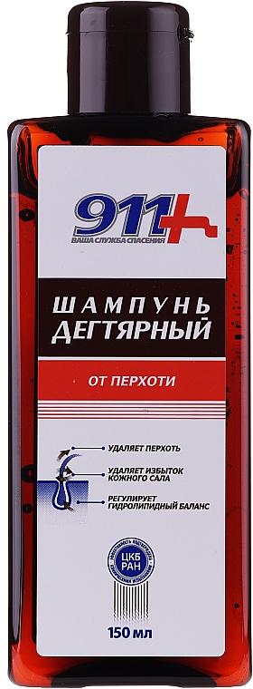 "Šampón proti lupinám ""Dechtový"" - 911"