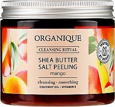 "Voňavky, Parfémy, kozmetika Soľný peeling ""Mango"" - Organique Shea Butter Salt Peeling Mango"
