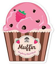 Voňavky, Parfémy, kozmetika Maska na tvár - Dr. Mola Muffin Raspberry Sheet Mask