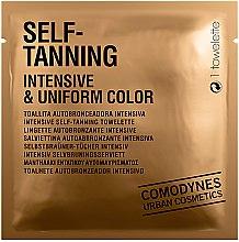 Voňavky, Parfémy, kozmetika Utierka na samoopaľovanie, intenzívna farba - Comodynes Self-Tanning Intensive & Uniform Color