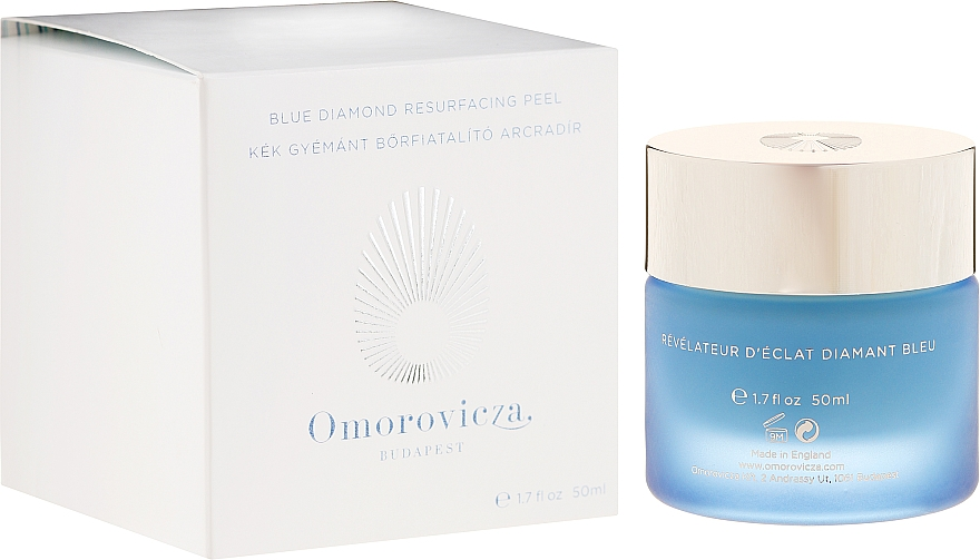 Peeling na tvár - Omorovicza Blue Diamond Resurfacing Peel