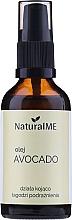 Voňavky, Parfémy, kozmetika Avokádový olej lisovaný za studena - NaturalME (s dávkovačom)